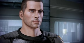 Mass Effect default Shepard