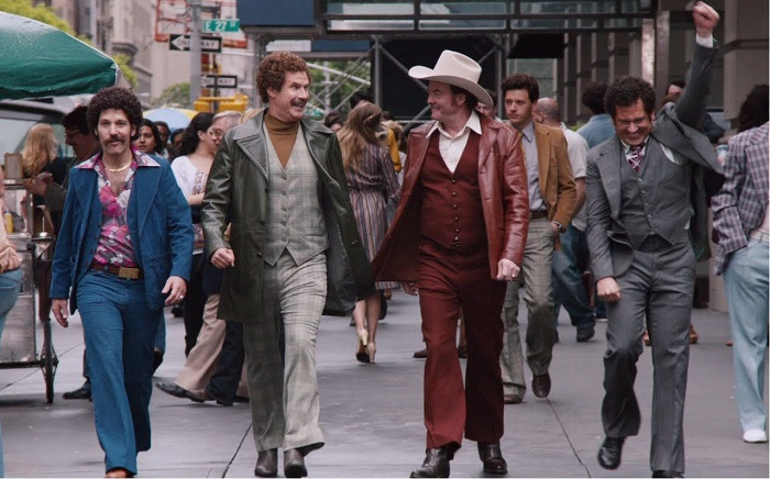 anchorman 2 on the street