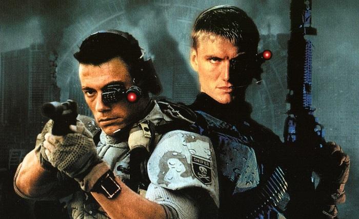 Universal Soldier Van Damme Dolph Lundgren