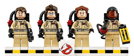Ghostbusters LEGO minifigures